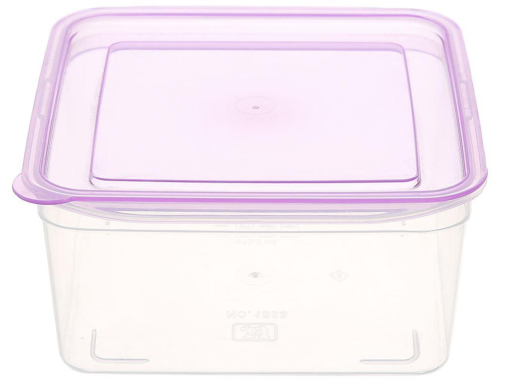 Bộ hộp nhựa vuông JCJ-H03-01 1