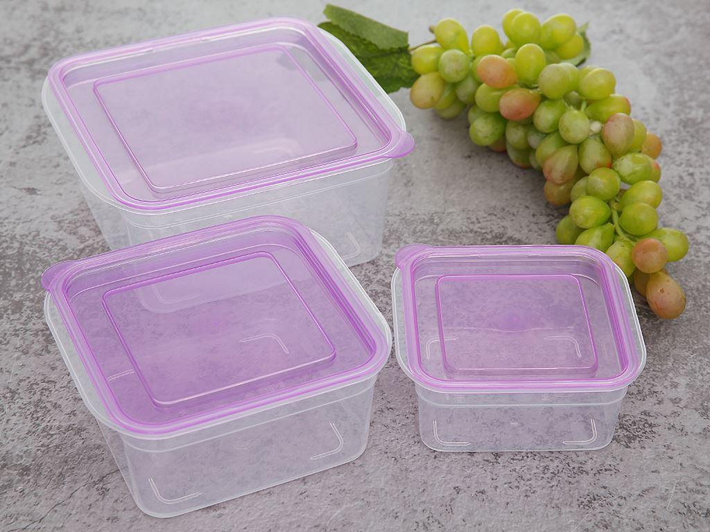 Bộ hộp nhựa vuông JCJ-H03-01 2
