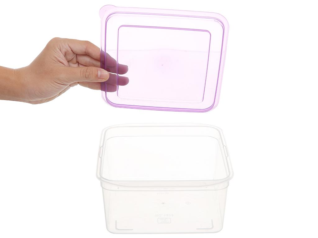 Bộ hộp nhựa vuông JCJ-H03-01 3