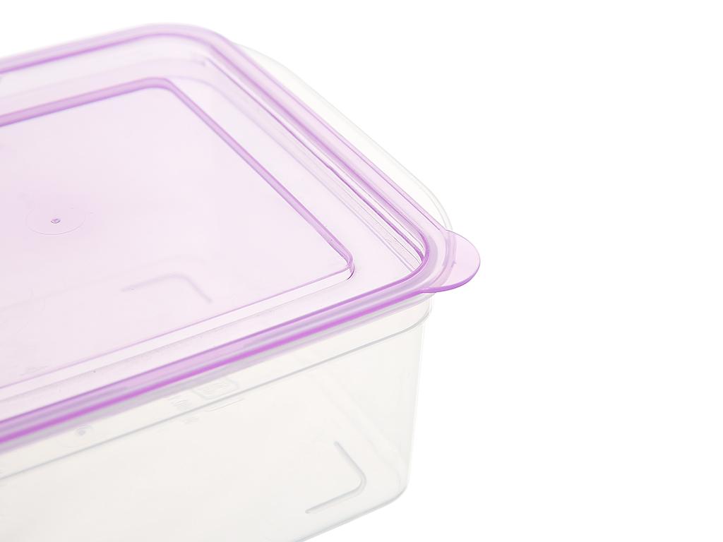 Bộ hộp nhựa vuông JCJ-H03-01 4