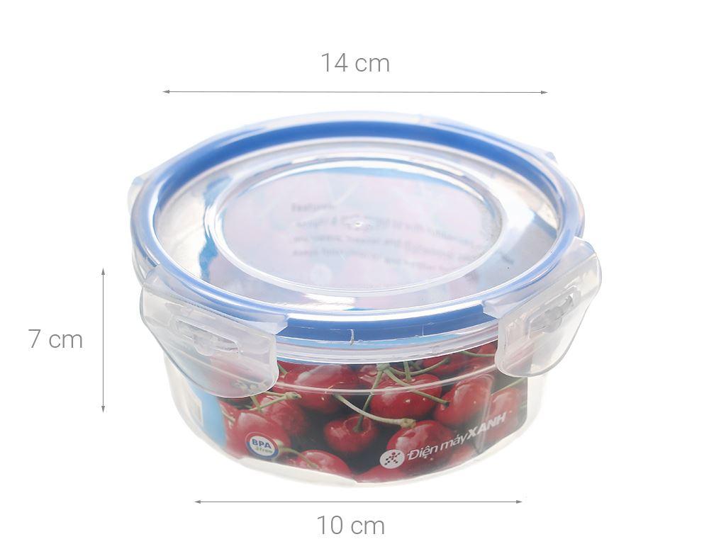Hộp nhựa tròn JCJ HN008 650 ml 6