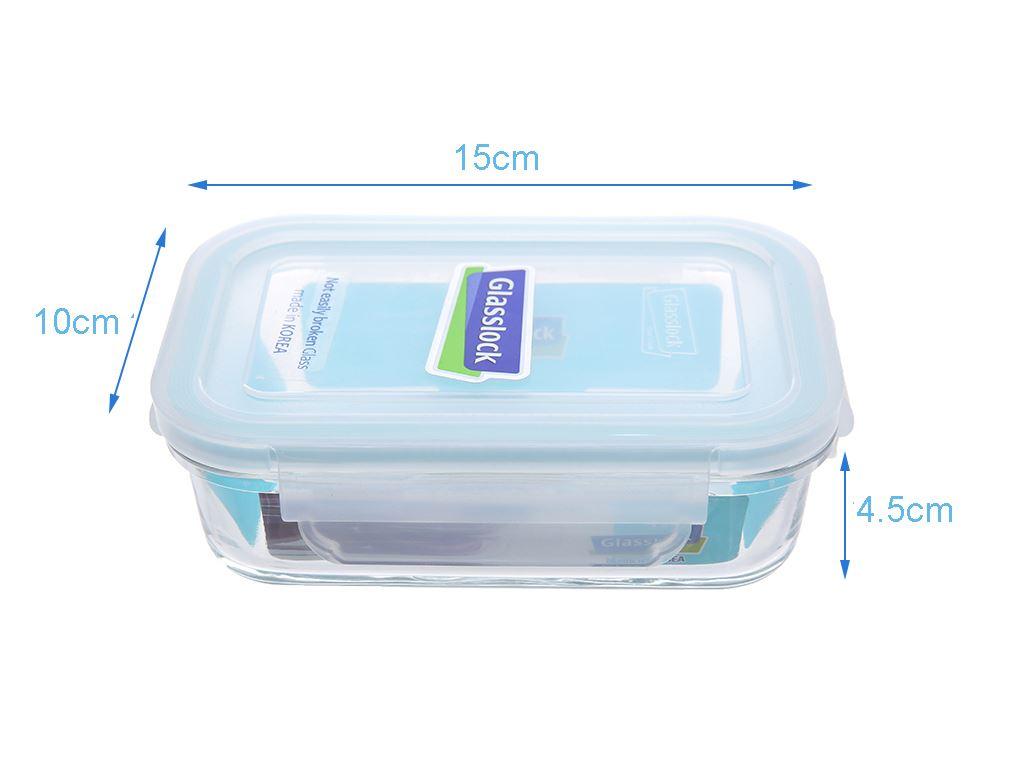 Bộ 3 hộp thủy tinh 400 ml Glasslock và túi giữ nhiệt 5