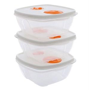 Bộ 3 hộp nhựa Thái Lan 500 ml Pioneer HN003-3 500 ml