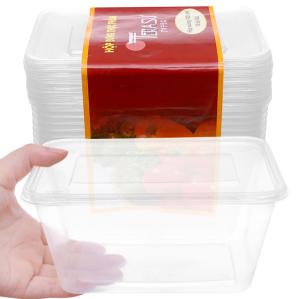 Lốc 10 hộp nhựa chữ nhật đựng thực phẩm Terasu 1 lít