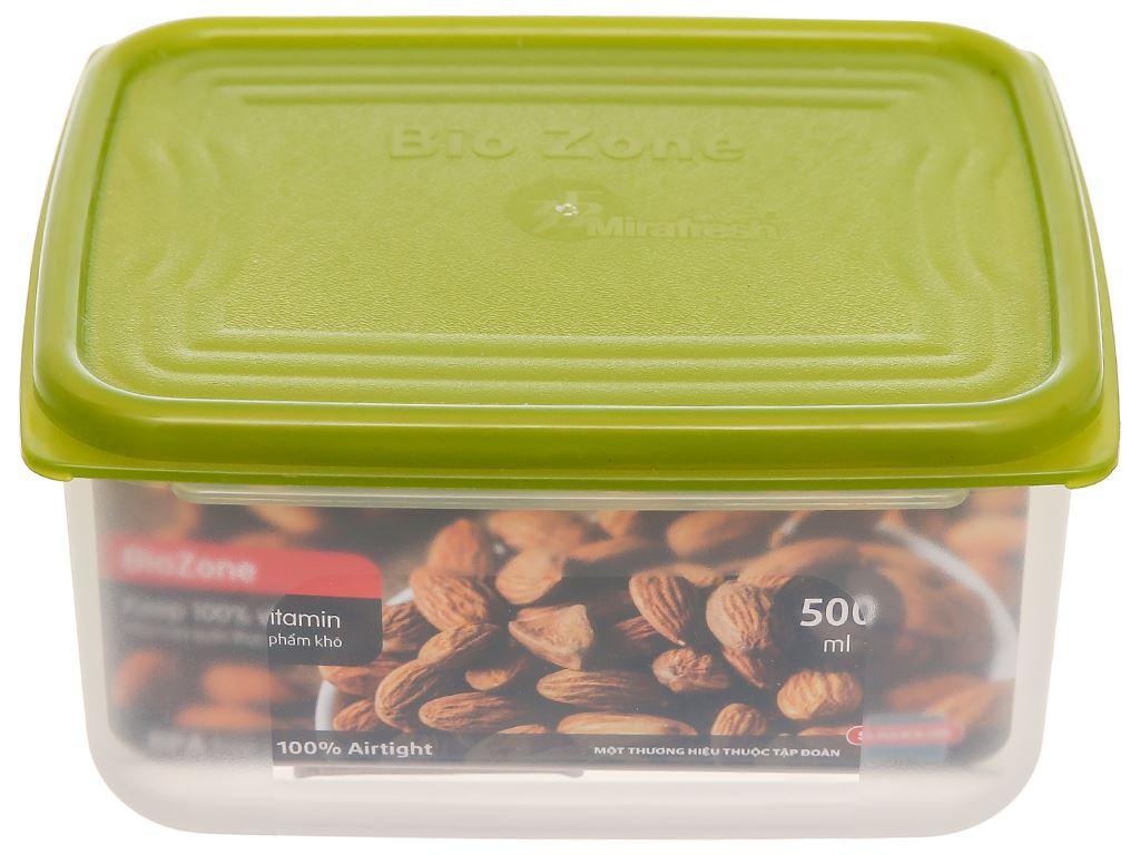 Hộp nhựa Biozone SH KB-DR500P 500ml 1