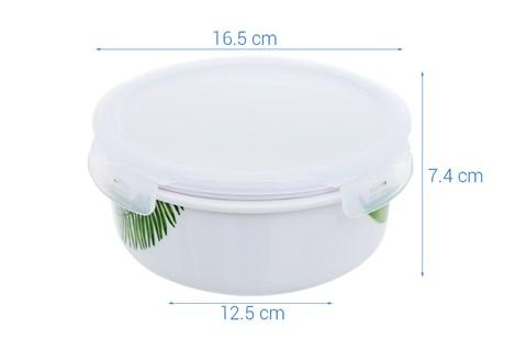 Hộp cơm sứ dùng được lò vi sóng 800ml Donghwa BH010 800 ml