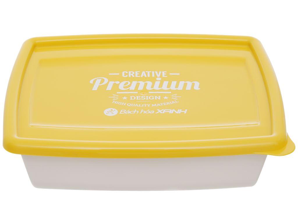 Bộ hộp nhựa chữ nhật 1000ml BHX PL-PN3433AX2-P1 2 cái 3
