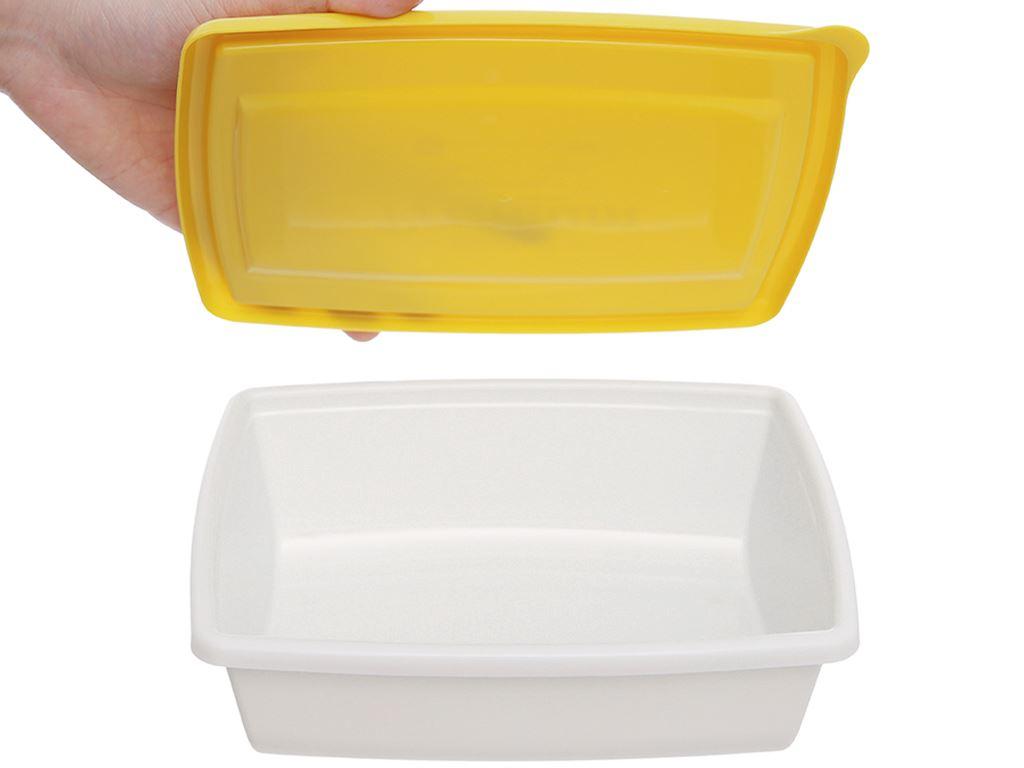 Bộ hộp nhựa chữ nhật 1000ml BHX PL-PN3433AX2-P1 2 cái 5