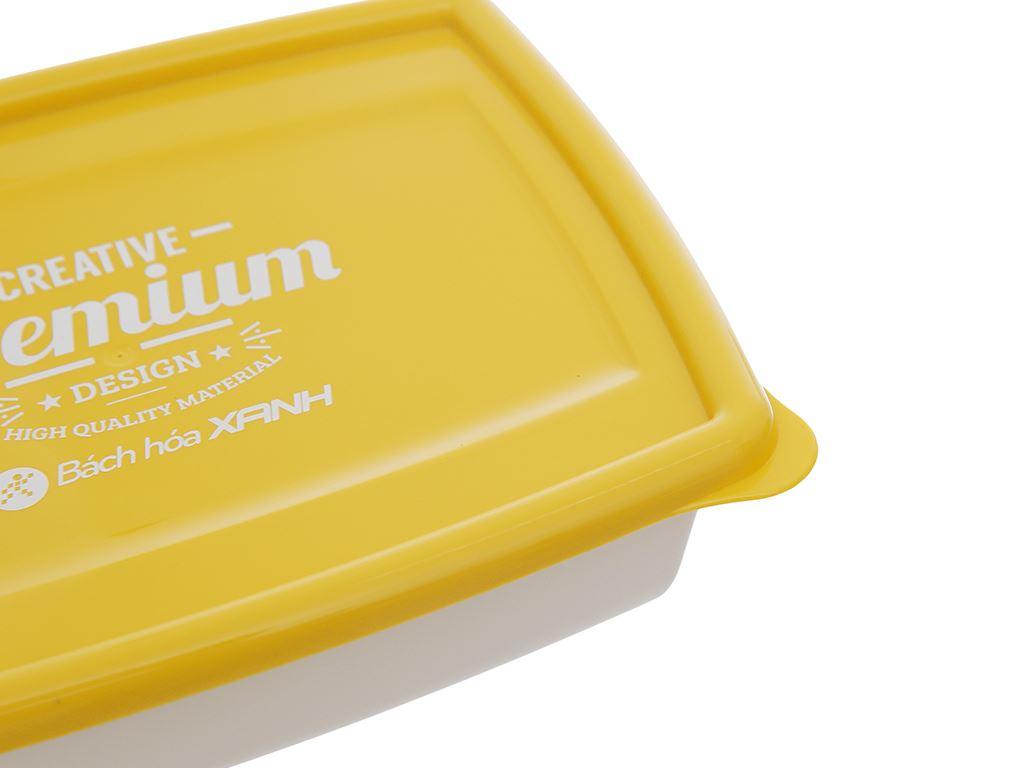 Bộ hộp nhựa chữ nhật 1000ml BHX PL-PN3433AX2-P1 2 cái 7