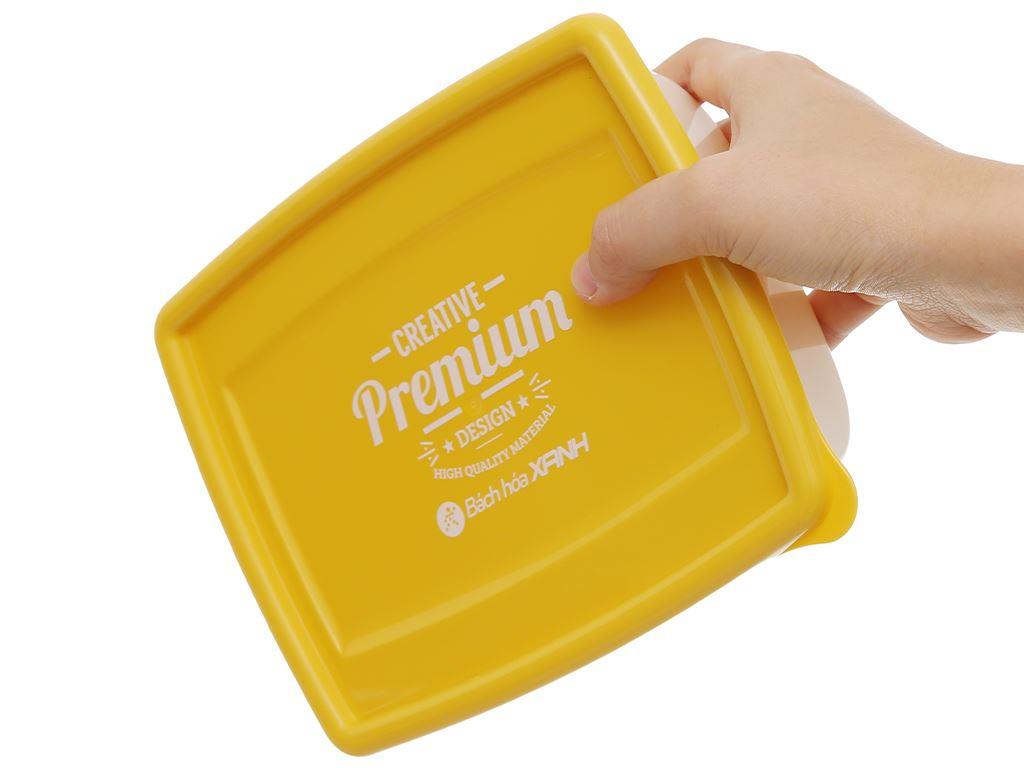 Bộ hộp nhựa chữ nhật 1000ml BHX PL-PN3433AX2-P1 2 cái 9