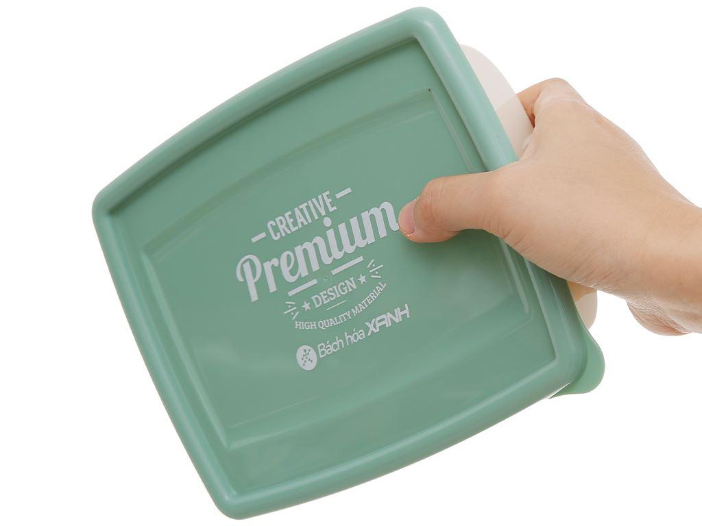 Bộ hộp nhựa chữ nhật 1000ml BHX PL-PN3433AX2-P1 2 cái 10