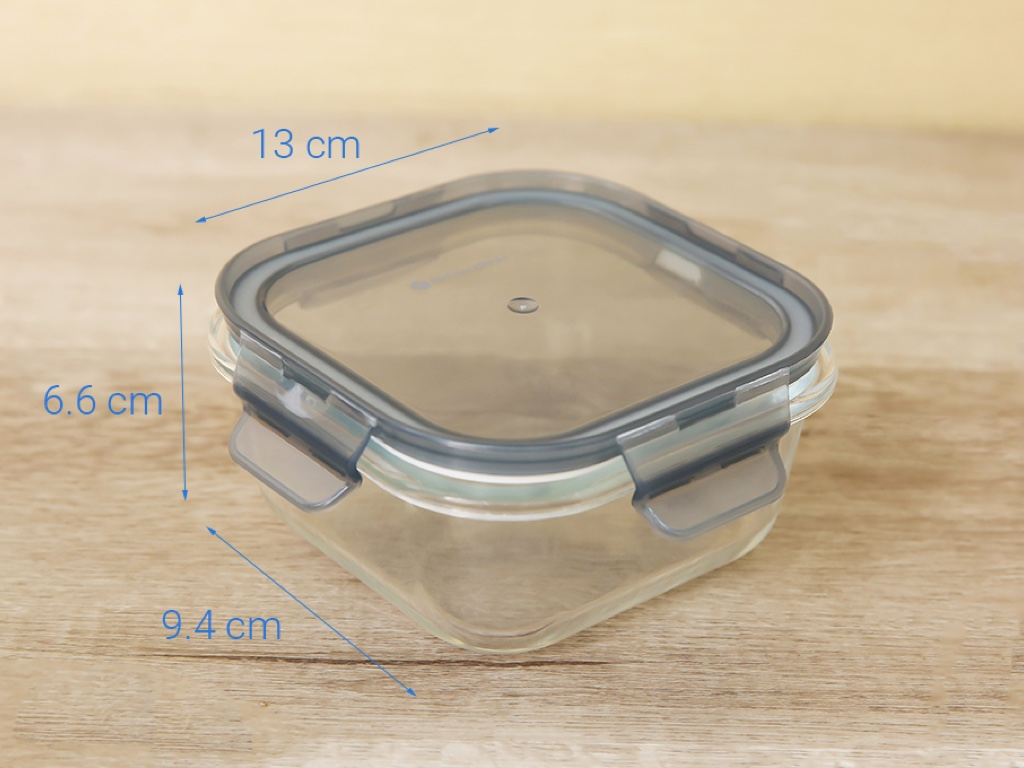 Hộp thủy tinh Bách hoá XANH DL-GPK12-500 500ml 5