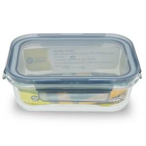 Hộp đựng thực phẩm thủy tinh 630 ml BHX DL-GPK11-600 630 ml