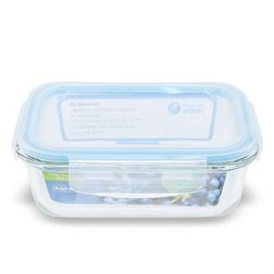 Hộp đựng thực phẩm thủy tinh 640 ml BHX IKOO-HS640RC 640 ml