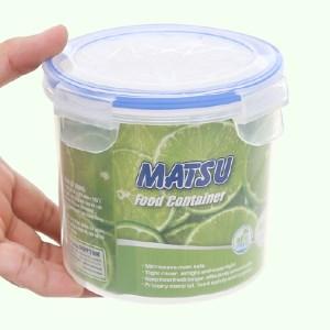 Hộp nhựa tròn Matsu 900ml