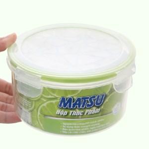 Hộp nhựa tròn Matsu 1 lít