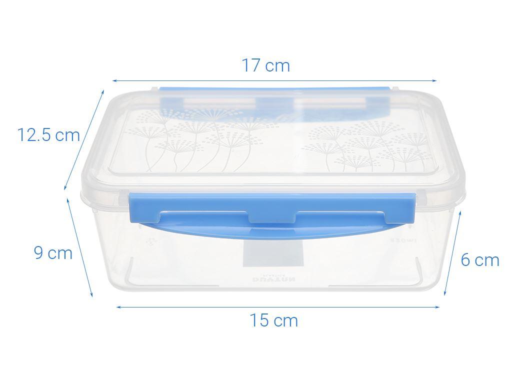 Hộp nhựa chữ nhật Matsu 820ml (giao màu ngẫu nhiên) 5