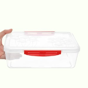 Hộp nhựa chữ nhật Matsu 2.6 lít