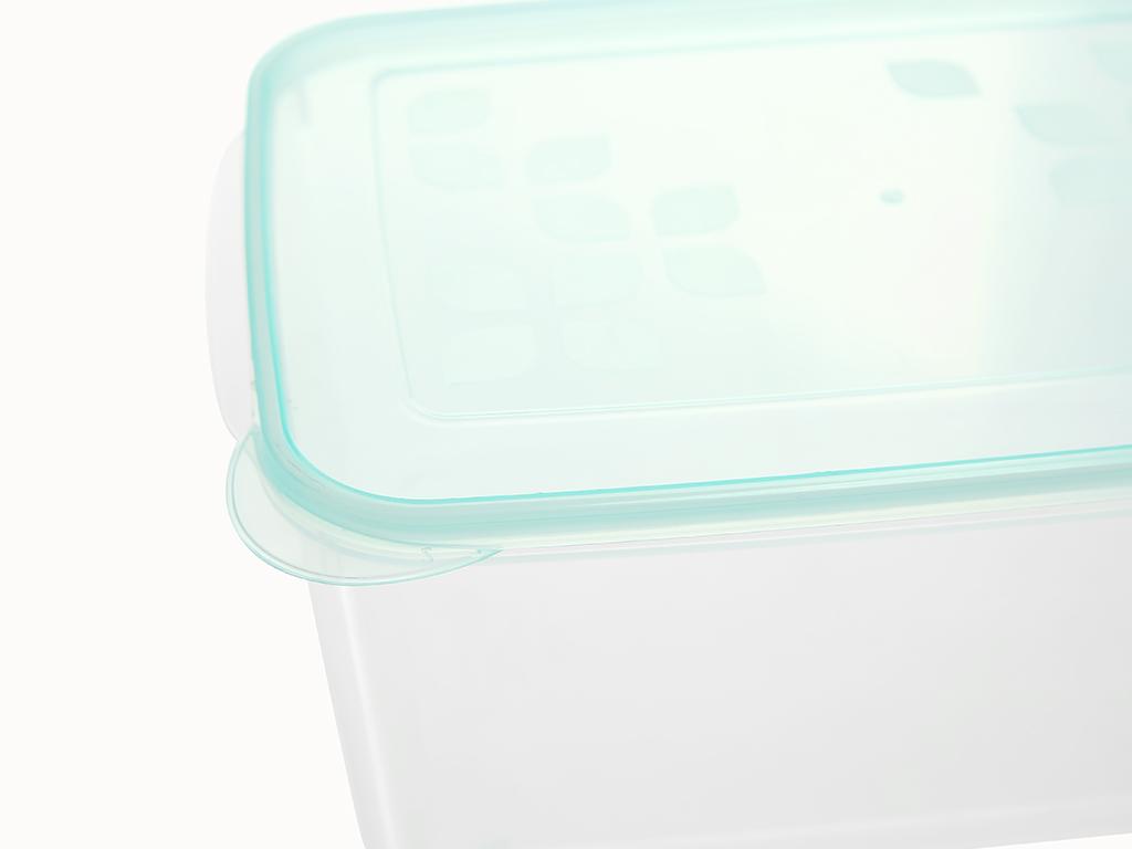 Hộp nhựa chữ nhật Matsu (giao màu ngẫu nhiên) 2.8 lít 4