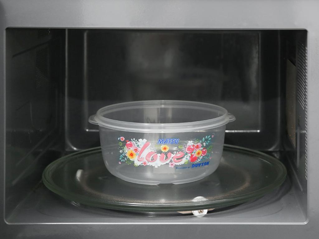 Hộp nhựa tròn có nắp Duy Tân 1.4 lít (giao màu ngẫu nhiên) 4
