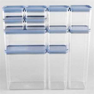 Bộ hộp nhựa Fitis FS-04E1 11 cái 400 ml, 800 ml, 1.6 lít, 1.7 lít, 2.4 lít, 3.5 lít