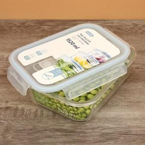 Hộp thực phẩm thủy tinh chữ nhật Inochi HIN.TTCN.1520 1.52 lít