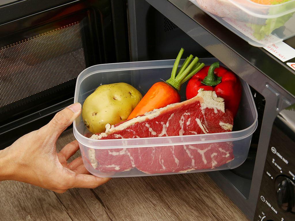 Bộ 3 hộp thực phẩm nhựa PP Inochi 750, 1500, 2500 ml (giao màu ngẫu nhiên) 8