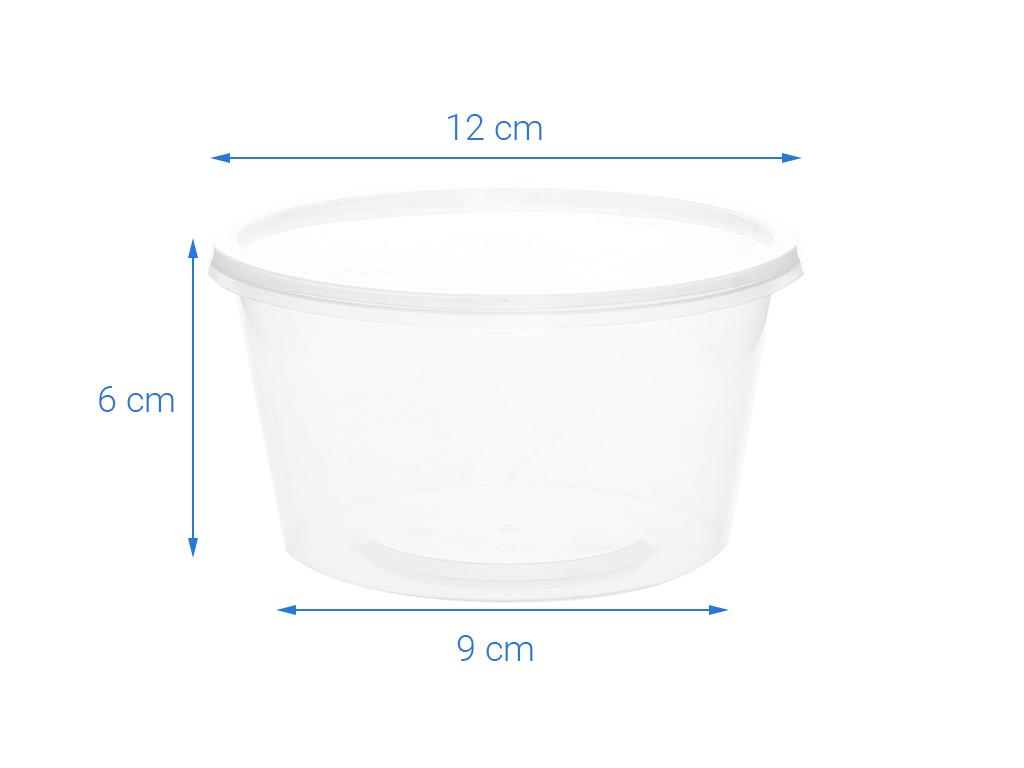 Bộ 10 hộp nhựa PP Kokusai HDK371734 10 hộp 5