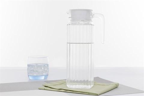 Bình đựng nước thủy tinh 1.1 lít Luminarc Quadro 1.1 lít