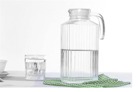 Bình đựng nước thủy tinh 1.7 lít Luminarc Quadro 1.7 lít