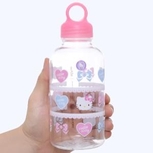 Bình đựng nước nhựa 500 ml Lock&Lock Hello Kitty LKT613S