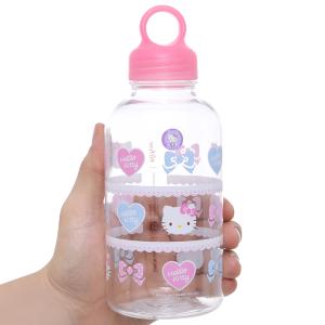 Bình đựng nước nhựa 500ml Lock&Lock Hello Kitty LKT613S