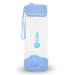 Bình nước thủy tinh 350ml DMX FQ-B838 xanh dương 320 ml