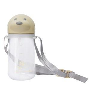 Bình đựng nước nhựa 460ml Cún nâu DMX DL-19602-B 460 ml
