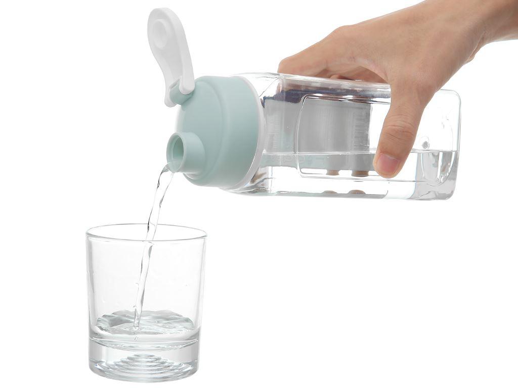 Bình đựng nước cao cấp nhựa vuông 900 ml Đồng Tâm (giao màu ngẫu nhiên) 5