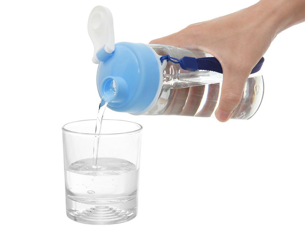 Bình đựng nước cao cấp nhựa oval 800 ml Đồng Tâm (giao màu ngẫu nhiên) 5