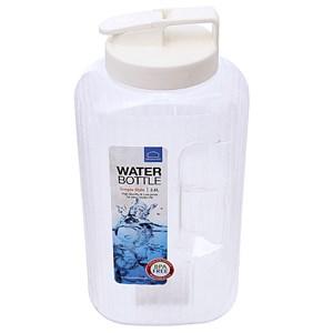 Bình nước nhựa 2.6 lít Aqua màu trắng