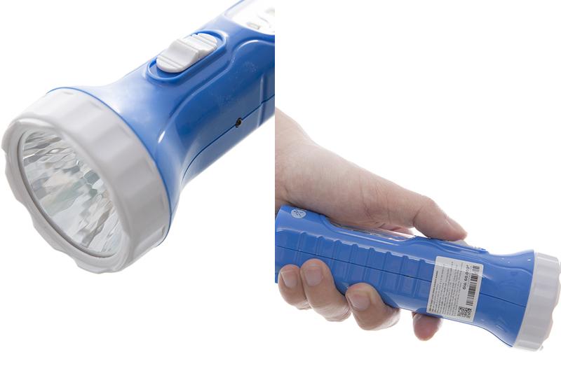 Đèn pin sạc Led DMX DS001 Xanh-4