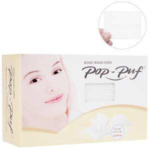 Bông trang điểm PoP-Puf không ép biên hộp 50 miếng