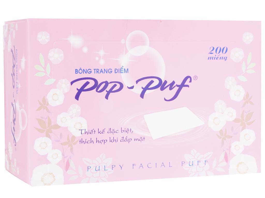 Bông trang điểm PoP-Puf 200 miếng 1