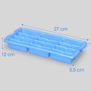 Khay đá nhựa 12 viên Đồng Tâm