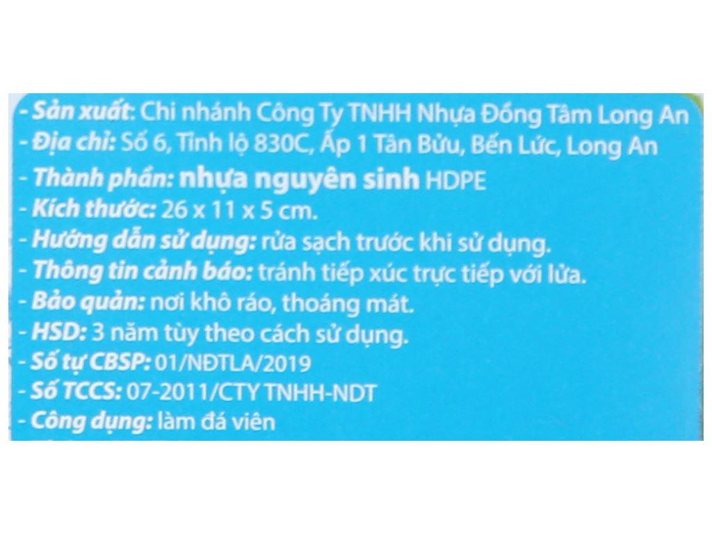 Khay đá 6 viên Đồng Tâm 6