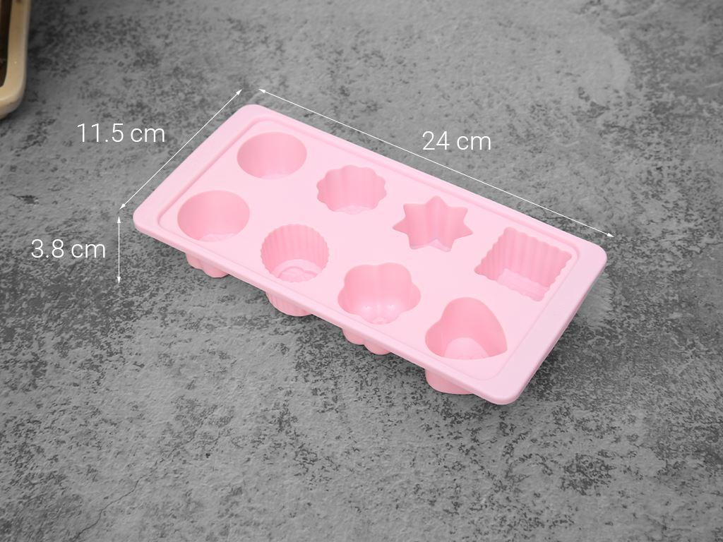 Khay đá nhựa 8 viên Hofaco 2 HPL62 5