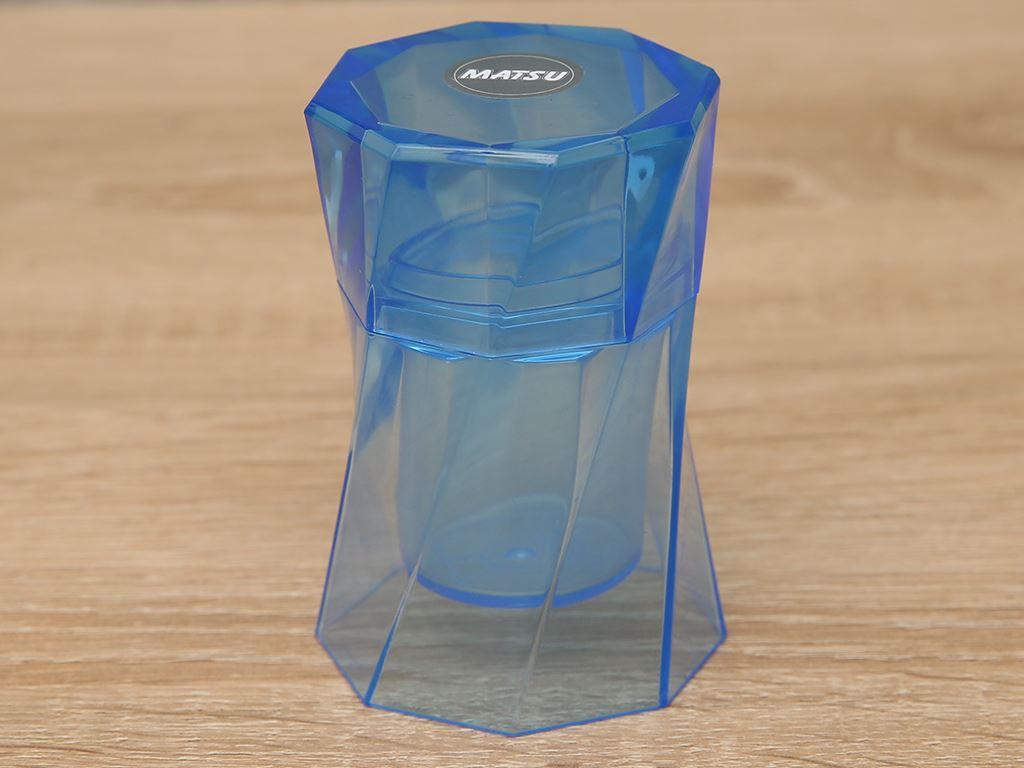 Hũ đựng tăm nhựa Duy Tân 9cm (giao màu ngẫu nhiên) 1