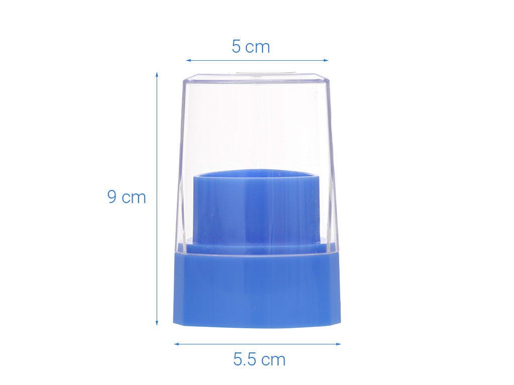 Hũ đựng tăm nhựa Duy Tân 8.5cm 6