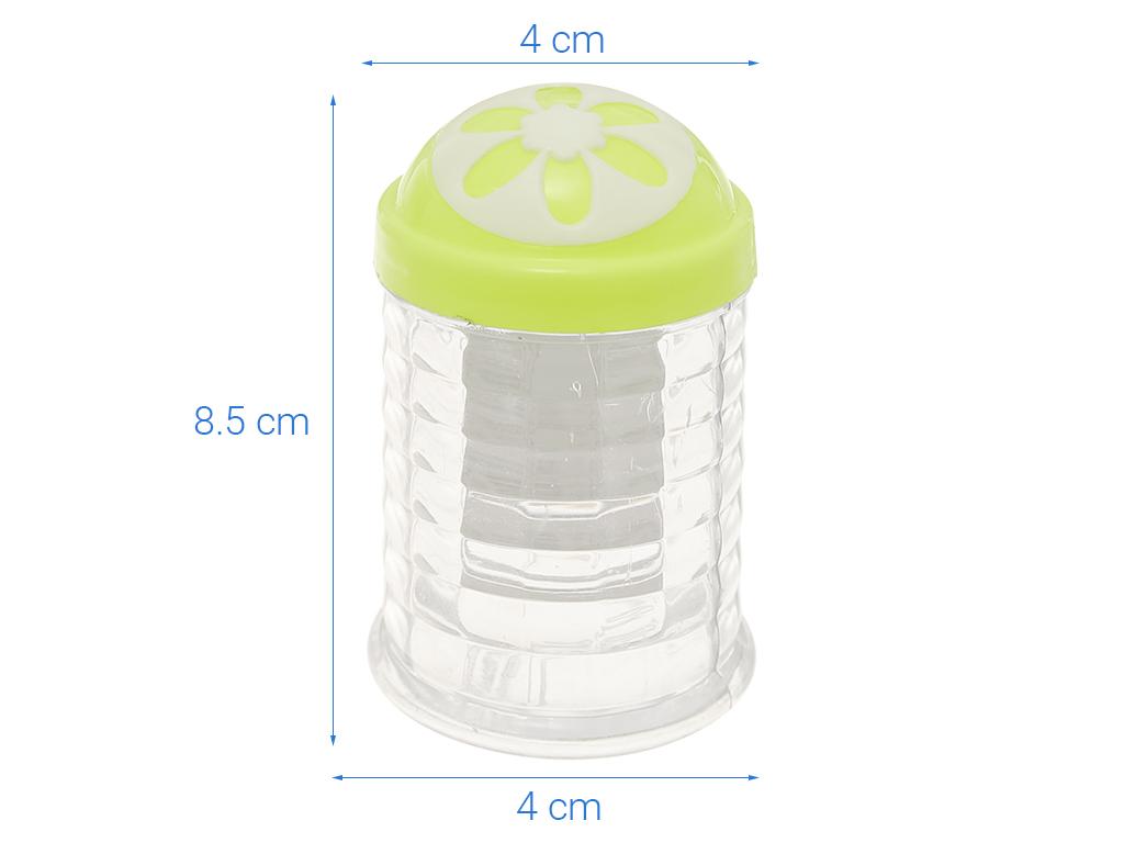 Hũ đựng tăm nhựa Tự Lập TL301 xanh lá 7