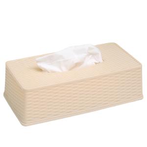 Hộp đựng giấy nhựa Bách hoá XANH TN-916092 trắng ngà