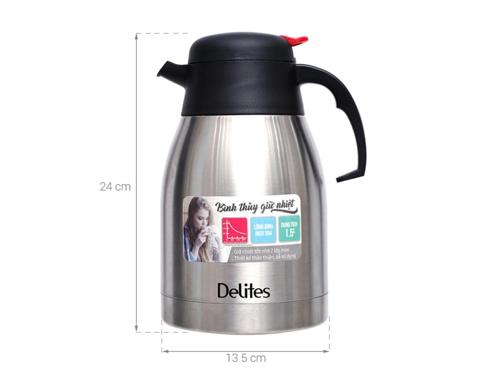 Bình giữ nhiệt 1.5 lít Delites QE-1500 6