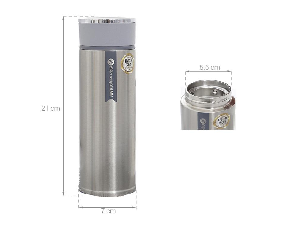 Bình giữ nhiệt 480ml Điện máy XANH BG007 (Giao màu ngẫu nhiên) 9