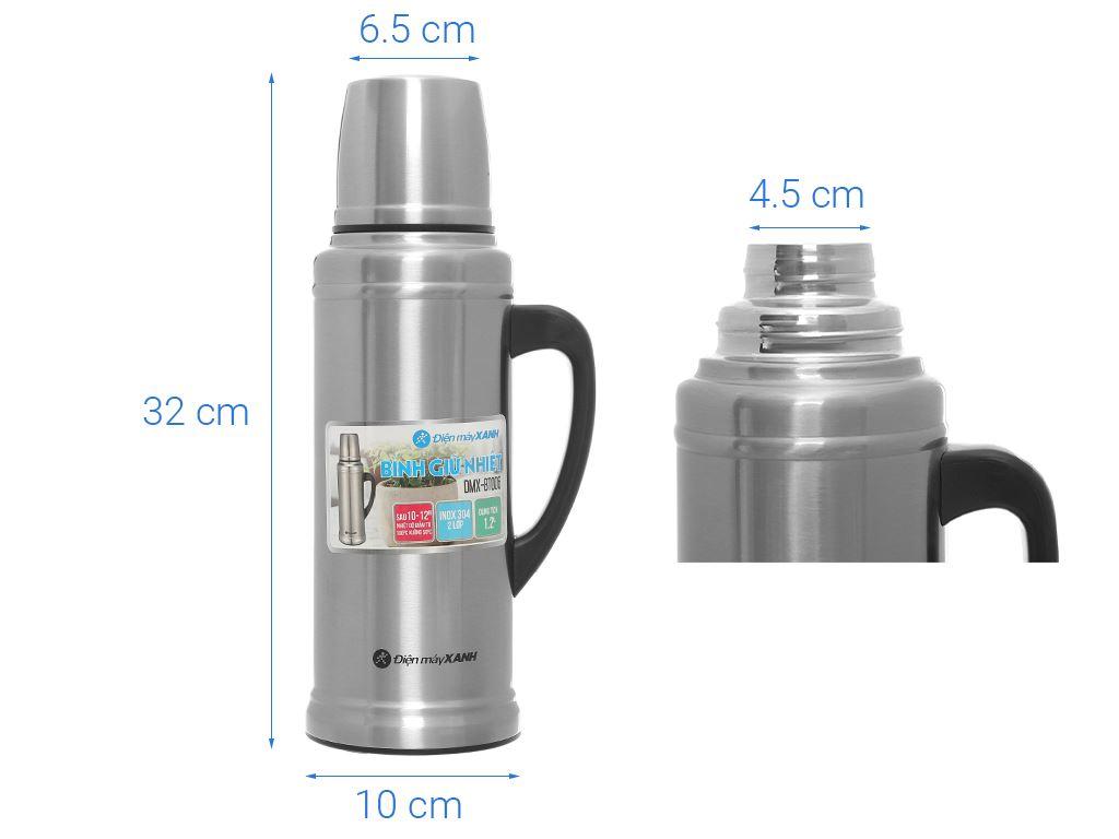 Bình giữ nhiệt 1.2 lít Điện máy XANH BT006 10